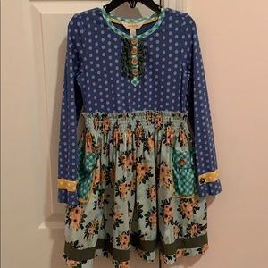 Matilda Jane long sleeve pocket dress
